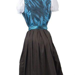 Classic Deep Blue Dirndl Dress