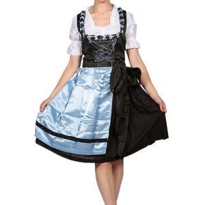 Ocean Blue Classic Dirndl dress