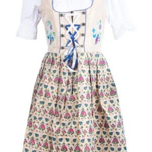 Blue Bavarian Dirndl Dress